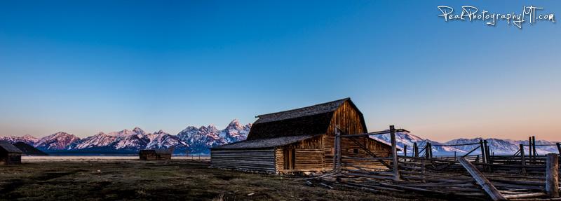 Roadtrip Day 2: Mormon Row Barn & Bentwood Inn [Grand Tetons Photography]